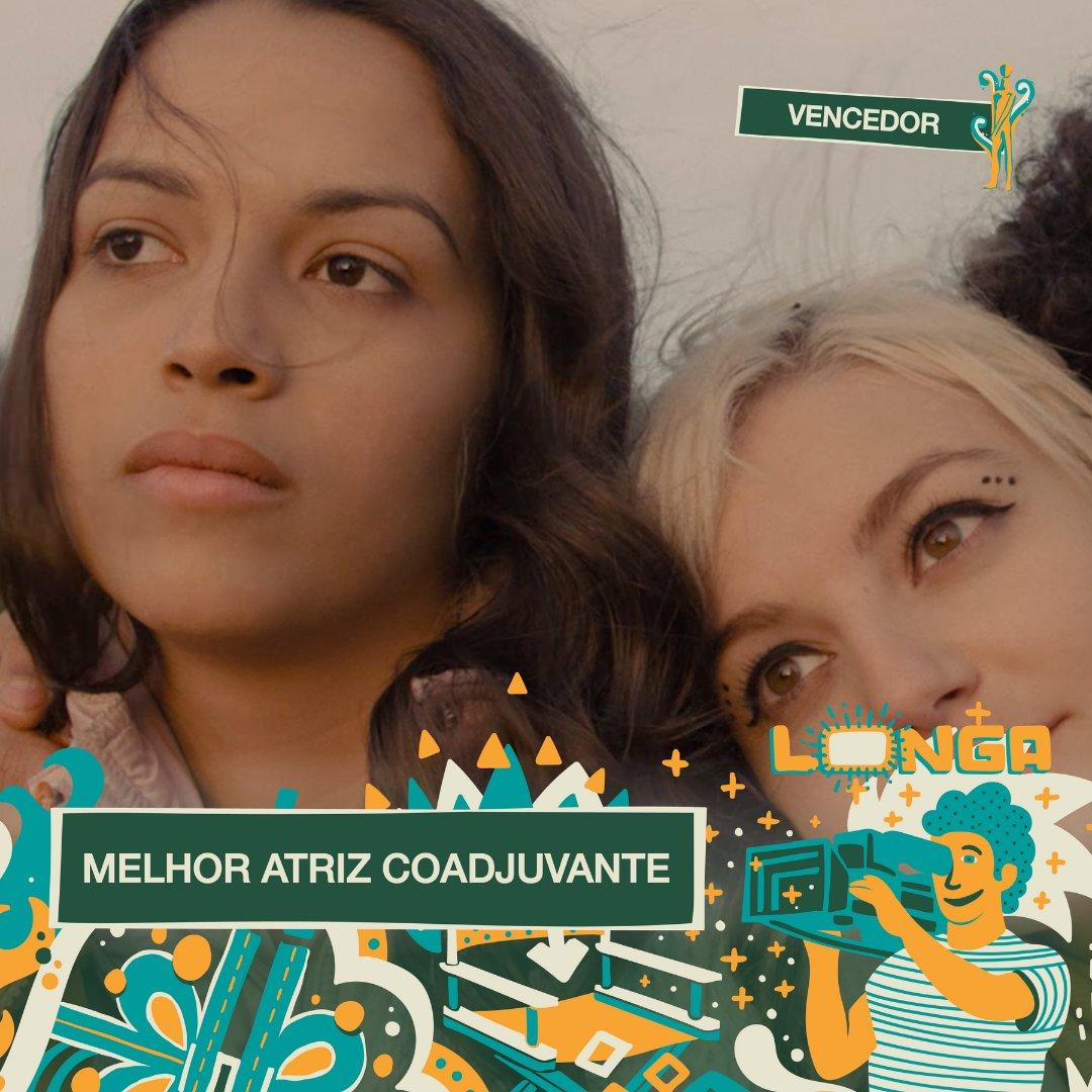 #PremiaçãoFBCB | MOSTRA COMPETITIVA  A vencedora do #TroféuCandango de MELHOR ATRIZ COADJUVANTE na categoria de Longa-Metragem é: THAIS SCHIER - ALICE JÚNIOR  #FestivalDeCinema #Brasília #52FBCB #FBCB #Brasil #Cinema #Arte