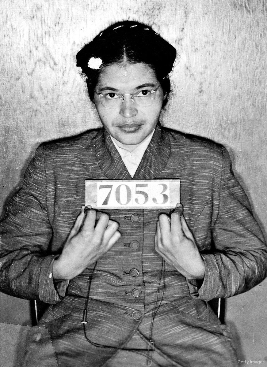 #OnThisDay 1955, Rosa Parks initiated a new era in the American quest for freedom and equality by refusing to surrender her bus seat to a white passenger. Activists protested and organised a boycott of the buses for one day and chose Martin Luther King, Jr. as their leader.