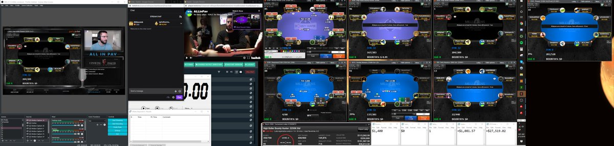 GL to @TJDarroch and @jaimestaples in the 10K today! Massive day. I'll be sweating with my pleb buy-ins.   Speaking of, I am live: http://twitch.tv/ALLinPav