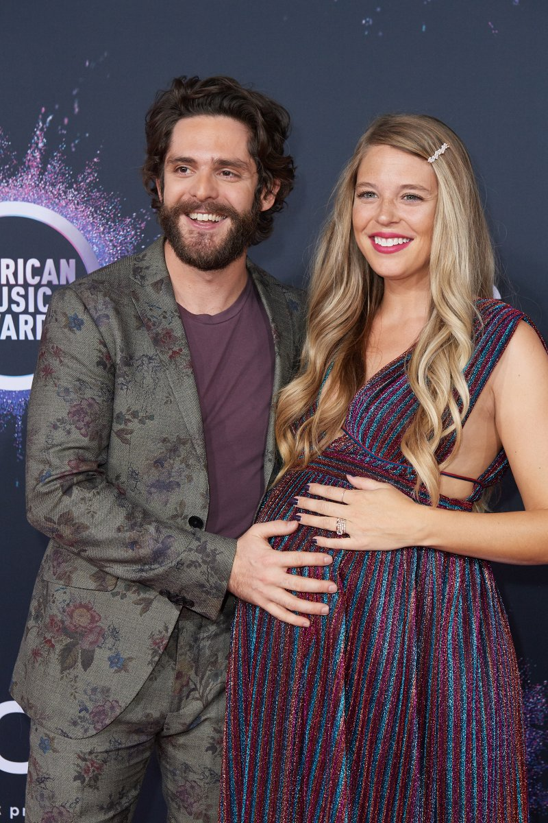 Look What God Gave Her and him 👶💕 #AMAs @ThomasRhett