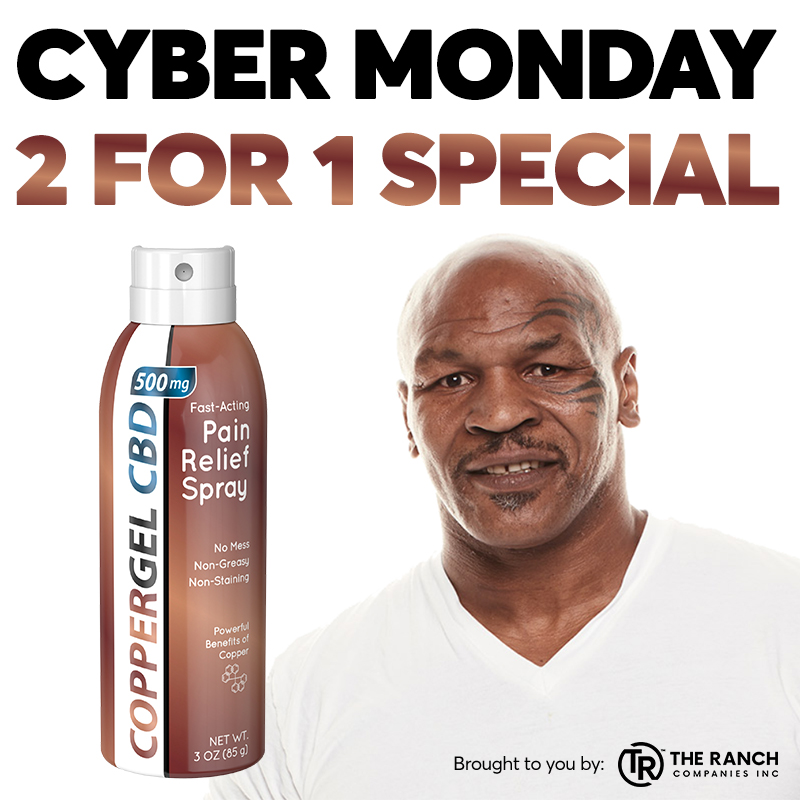@MikeTyson's photo on Cyber Monday Special