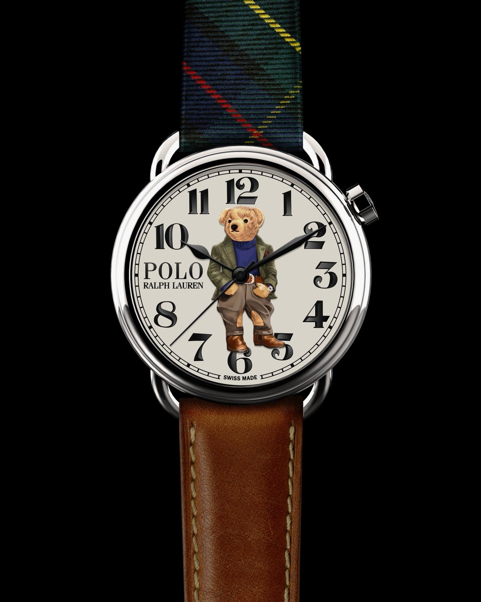 A celebration of Polo Ralph Lauren heritage, the new #PoloBear Watch Collection draws from the history of three iconic bears, each representing a different facet of Mr. Lauren's own unmatched style Discover all three limited-production watches: rlauren.co/PoloBearWatchC…