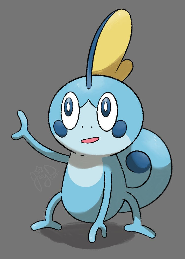 It's been 3 years since I last did Pokecember so I decided to do it again! I will be drawing my team (including all evos) and honorable mention Pokes that helped me beat gyms, etc.   Anyway here's Sobble #Pokecember2019<br>http://pic.twitter.com/9SHqSgrdsM