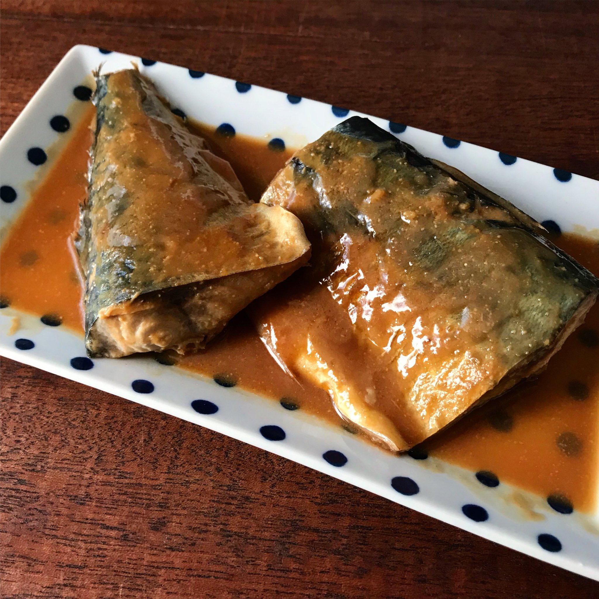 【世界一簡単なサバのみそ煮】レンジで完結・しかもふっくら美味しいwwww