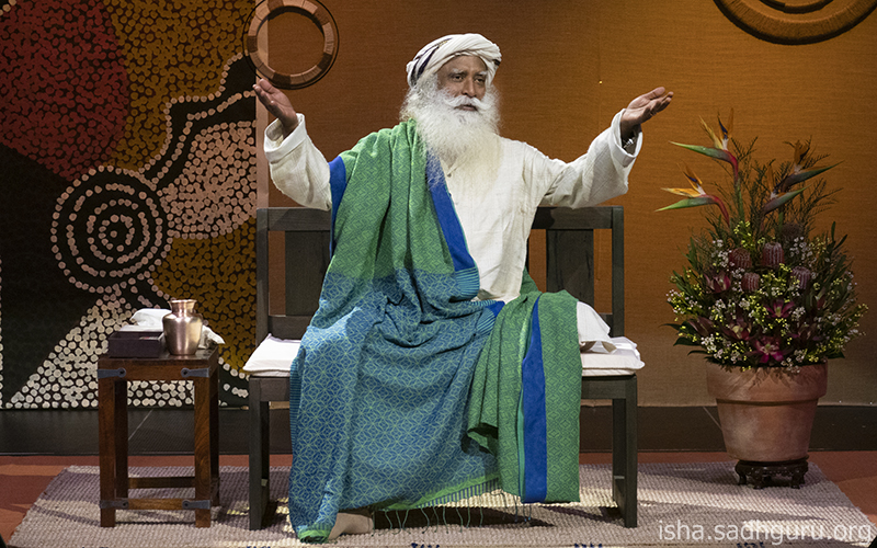 If you want to make yourself miserable, you have endless opportunities, because always, someone will do something you do not like. #SadhguruQuotes