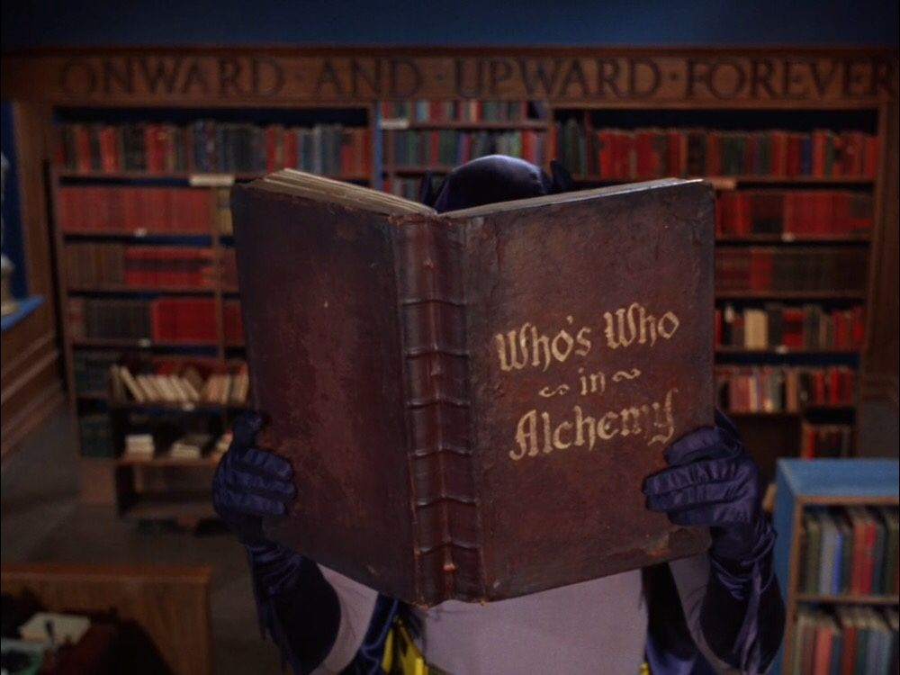 WHO'S WHO IN ALCHEMY
