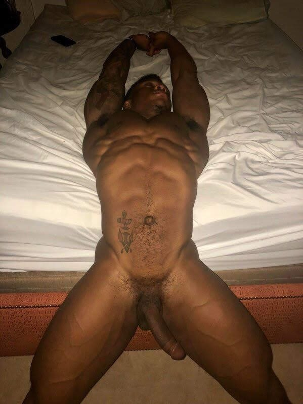 Cute black guy big dick