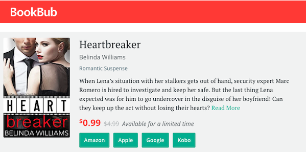 Heartbreaker is 99c for one week only! It's never been discounted before, so don't miss out: https://books2read.com/heartbreaker-hollywood-hearts… #RomanticSuspense #HollywoodHearts #contemporaryromancepic.twitter.com/gDBqBTcuPw