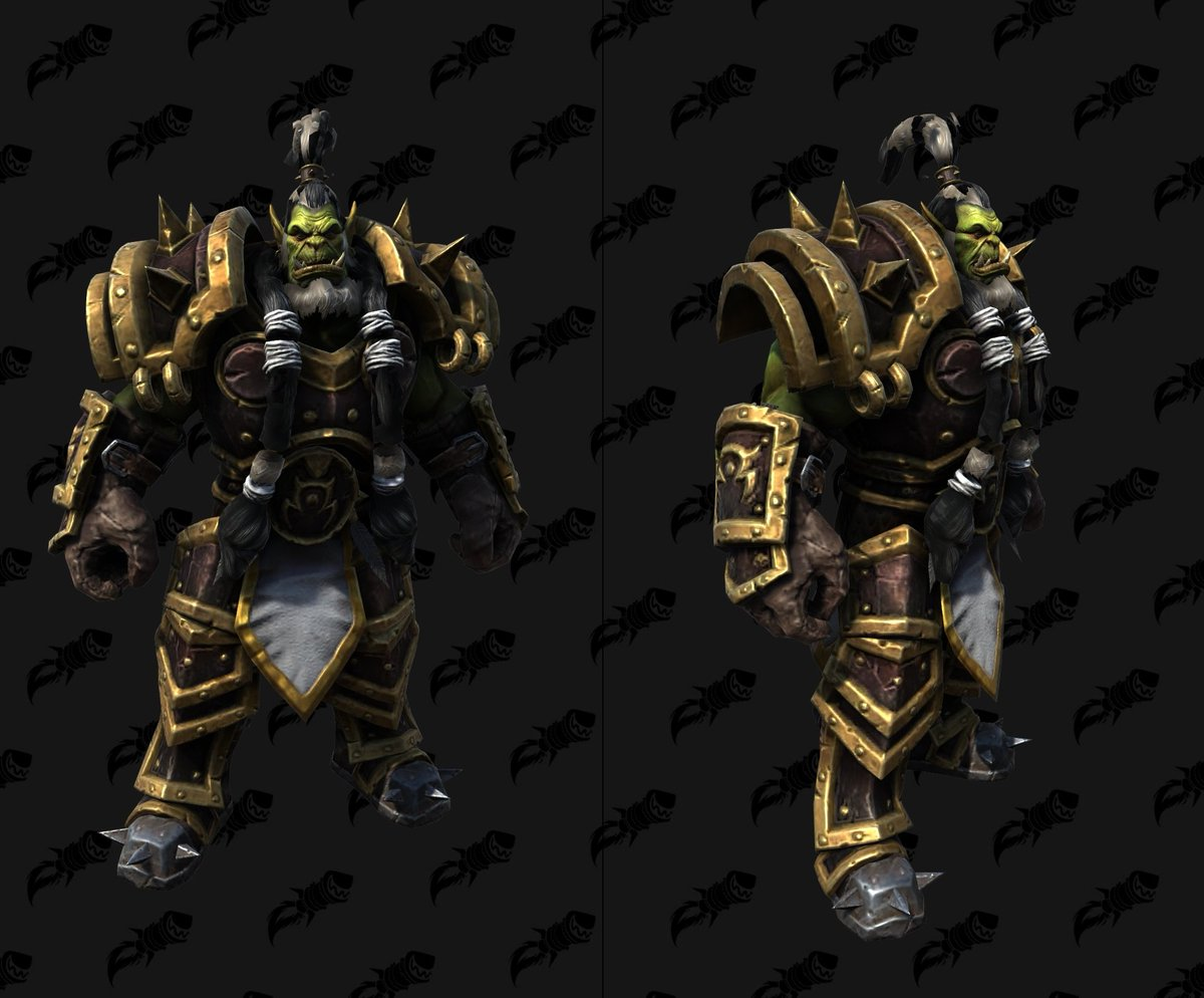 Wowhead On Twitter Warcraft Iii Reforged Models Orcs