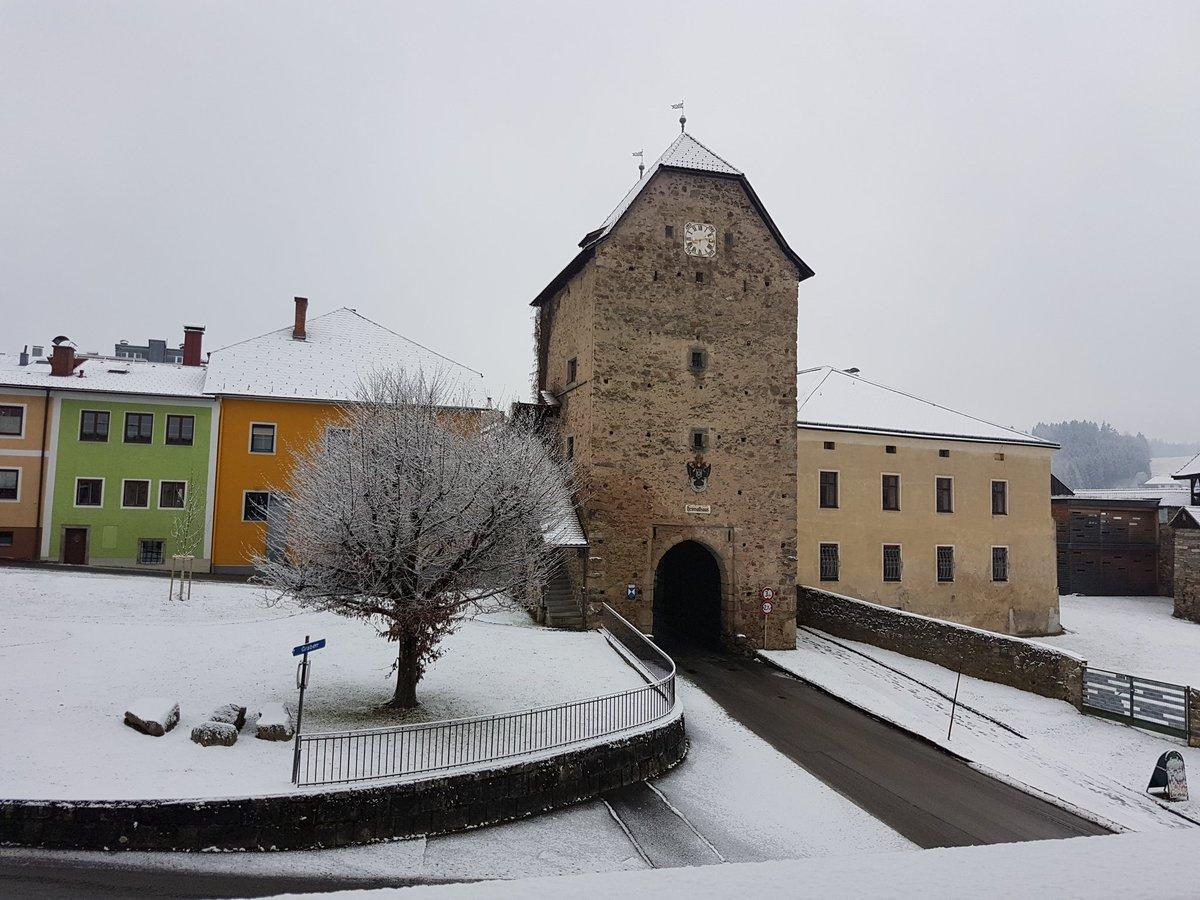 Karin Leitners Tweet Guten Morgen Mit Schnee Und Stille
