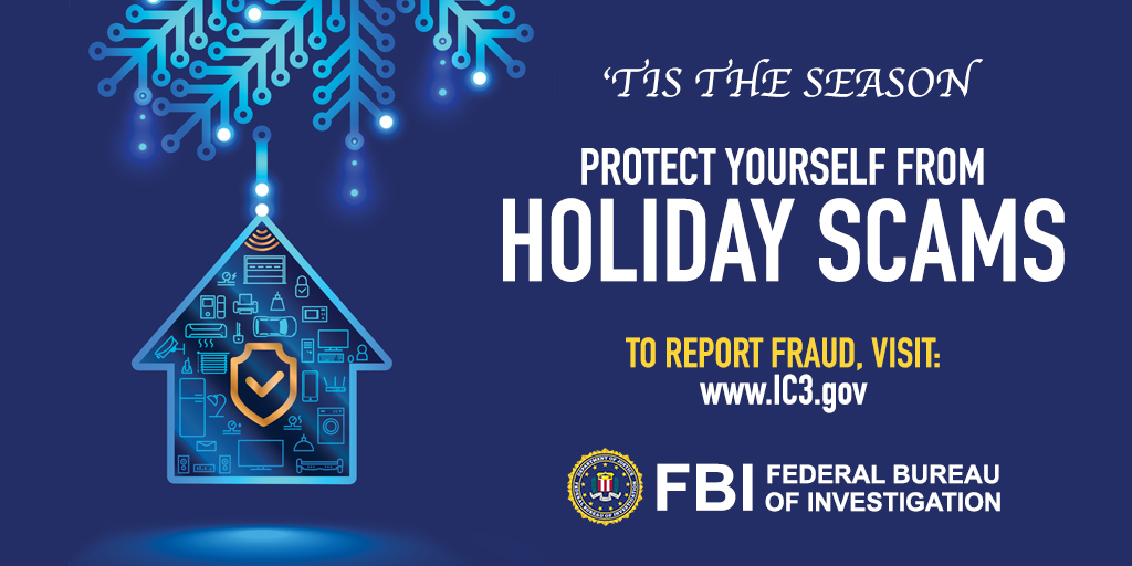 Fbi On Twitter You Can Track Your Purchases Easily This Holiday Season Through Automated Credit Card Transaction Alerts Contact Your Bank For Help Setting Up Alerts Report Fraud Or Attempted Fraud To