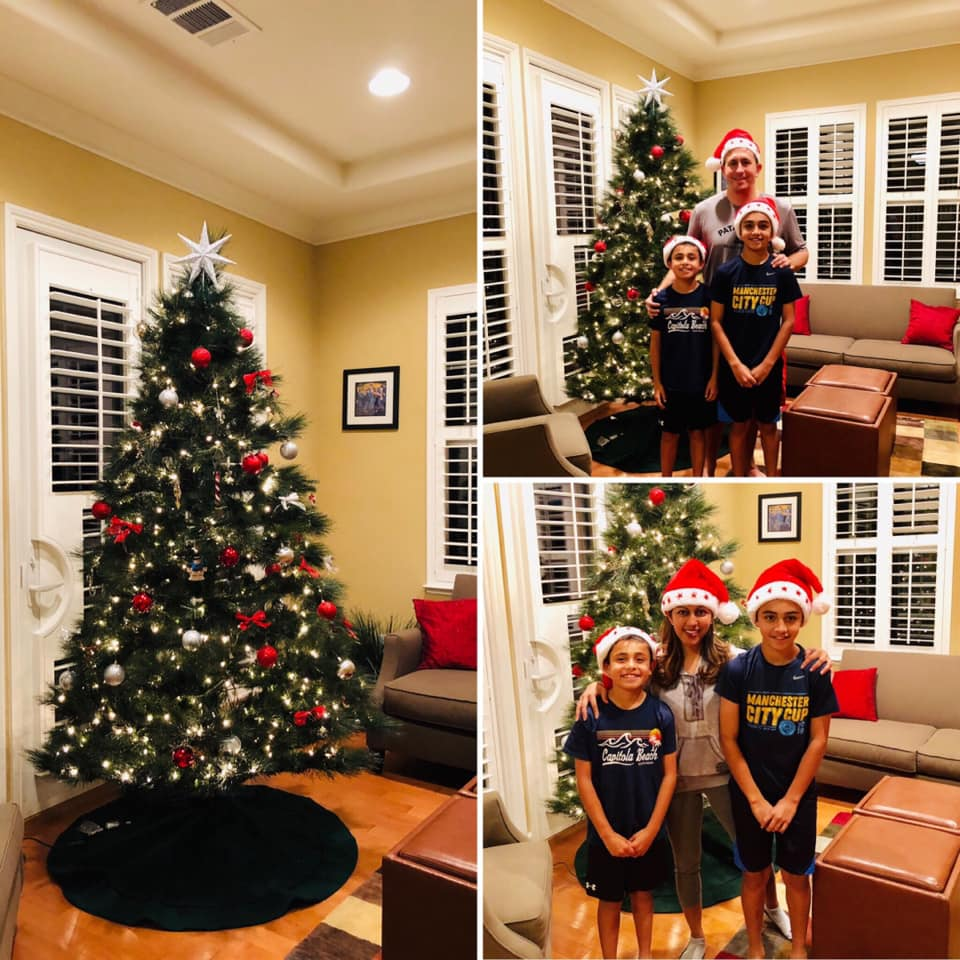 Our Christmas tree is up and we're getting into the holiday spirit!   #PassionFit #Health #Wellness #Family #Love #Holidays #ChristmasTree #SweatPink #ClassPass #MindBody<br>http://pic.twitter.com/YR06TGwMJe