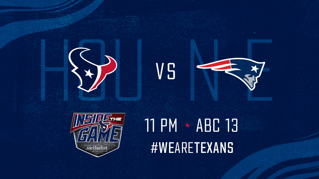 Relive #NEvsHOU with Inside the Game on @abc13houston!  #NEvsHOU | #DeepSteelSunday<br>http://pic.twitter.com/2gMPgbr4XH