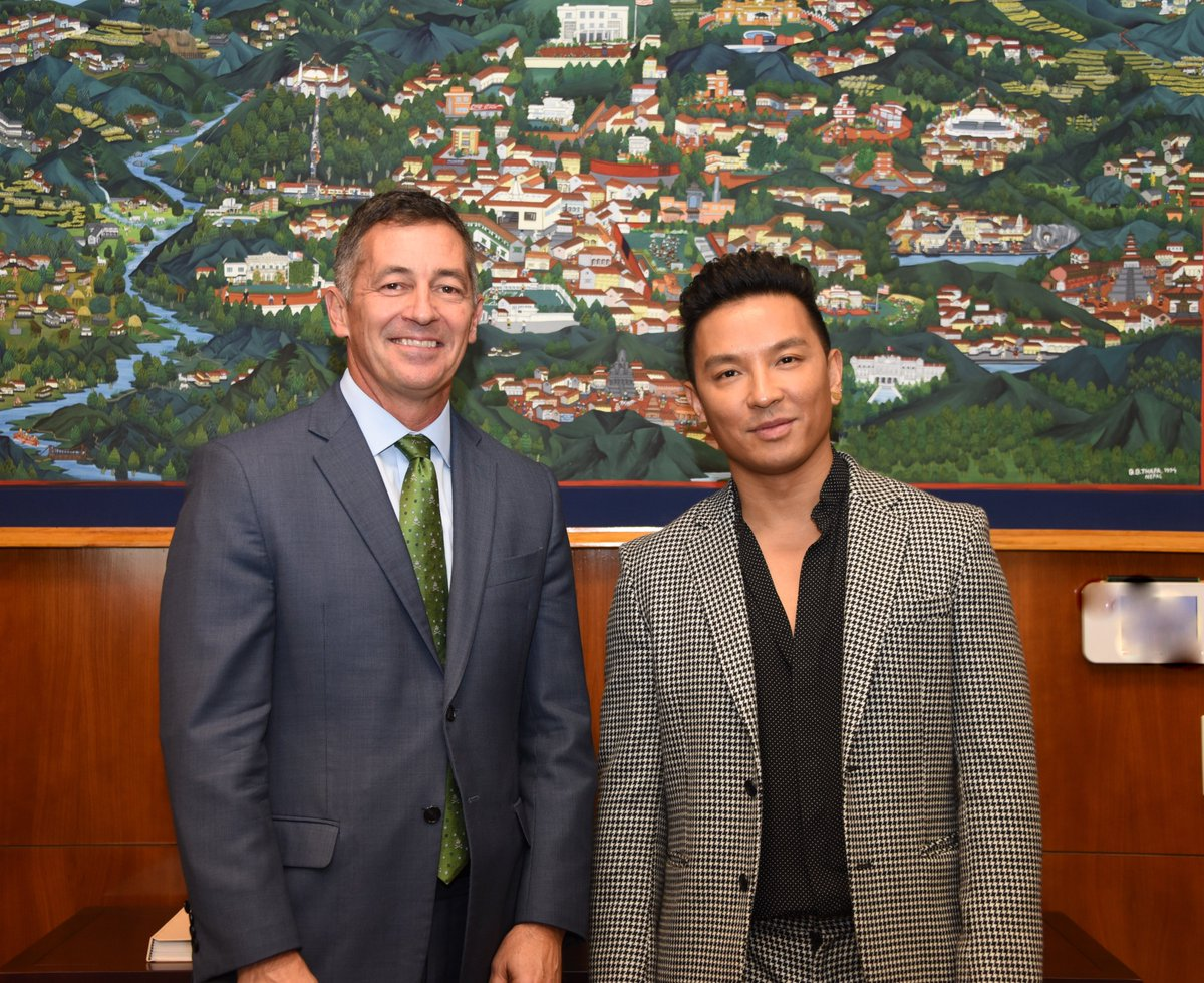 Ambassador Randy Berry On Twitter Awe Inspiring To Meet Famous Nepali American Fashion Designer Prabalgurung Hear His Profoundly Personal Success Story Thank You For Promoting Inclusion And Diversity Through Your Work Https T Co 2daglibvh4