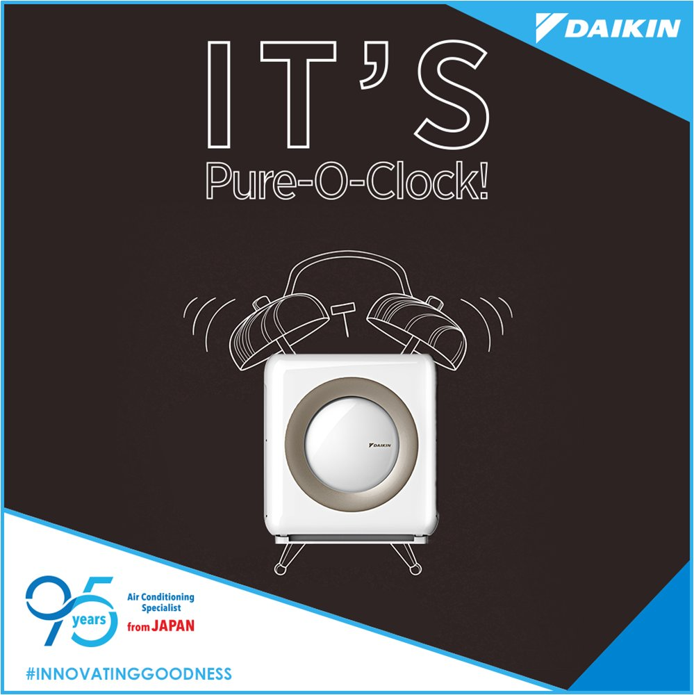 With a Daikin Air Purifier, have access to the cleanest air every moment Go get one today. InnovatingGoodness https t
