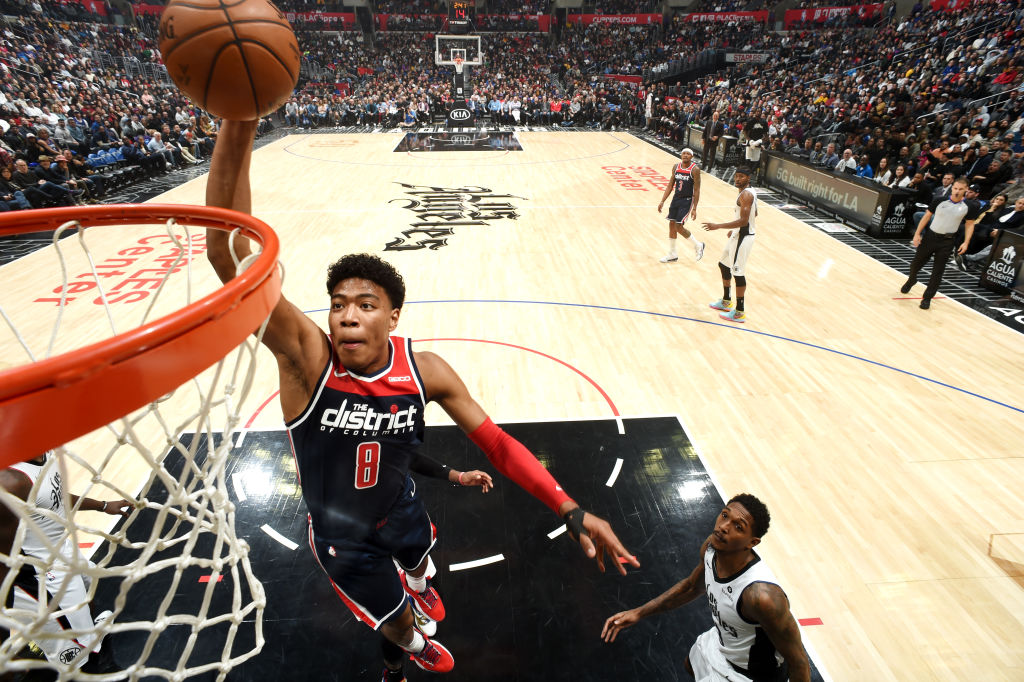 Career-high 27 PTS for @rui_8mura at the end of 3 in LA!   #NBARooks x #RepTheDistrict