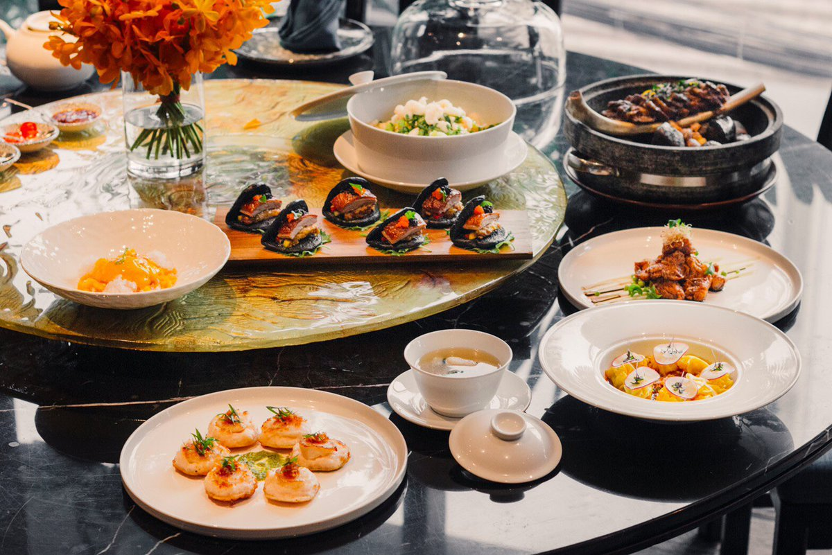 THE LAUNCH OF MAN HO - NEW MENU Come and try the reinvented menu prepared by our Executive Chinese Chef, Leslie Du, at Man Ho Chinese Restaurant, where he takes Chinese cuisine to the next level. 🥠🥟🍤🥠🥡🥢 #ManHoBKK #jwmarriottbkk  . . . . #lunch #dinner #struggleplates https://t.co/se4zvS3oxV