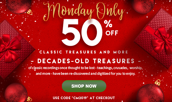 @Benny_Hinn's photo on Cyber Monday Special