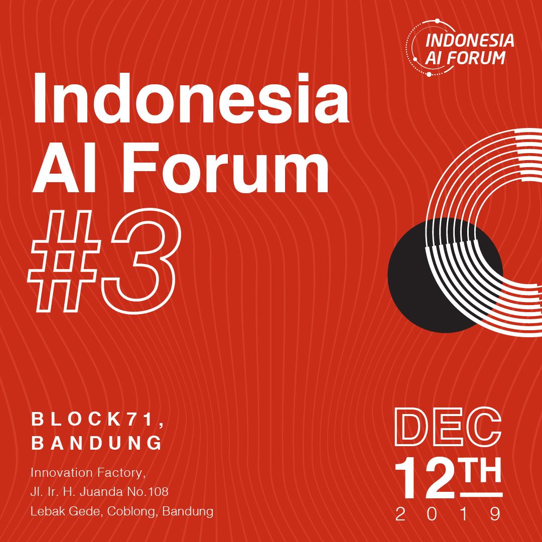 Sudah siapkah kamu berdiskusi bersama para pakar, praktisi, dan akademisi untuk membahas kurikulum AI di dunia pendidikan Indonesia? Nantikan pembahasan lengkapnya di #IAIF2019 3 di kota Bandung!Dapatkan tiketnya sekarang juga dengan klik http://bit.ly/IAIF2019_3!