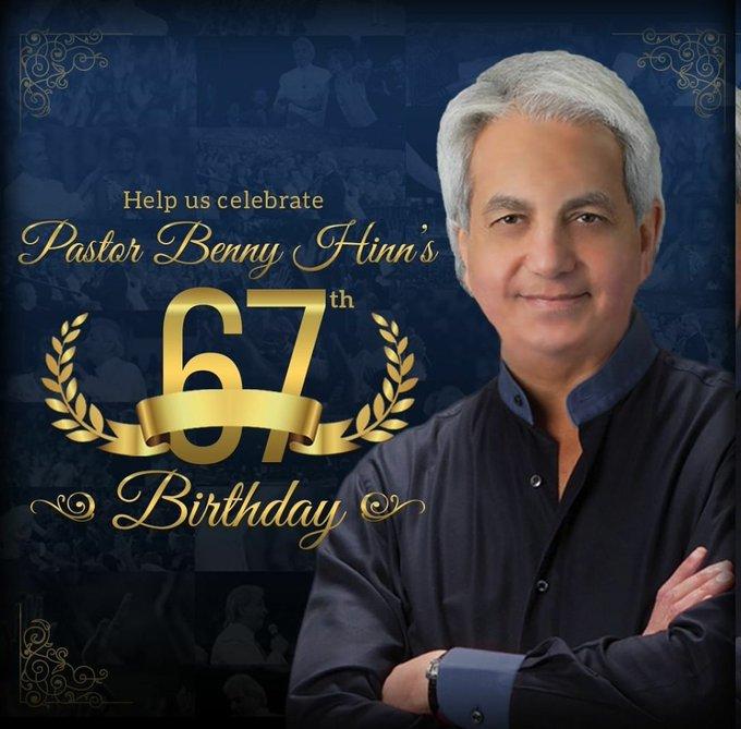 Happy Birthday To Pastor BennyHinn
