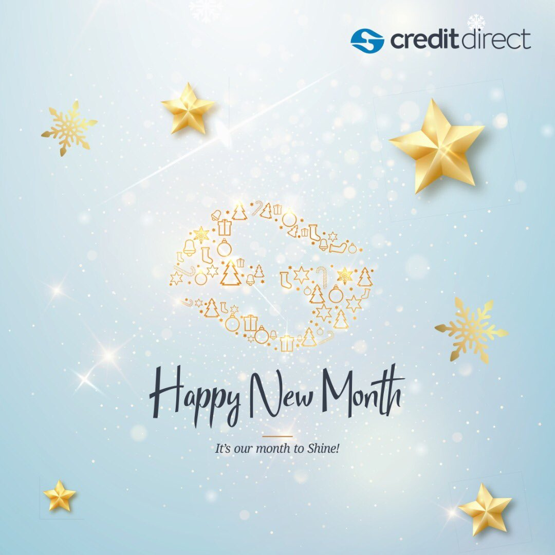 Embrace this new month of December with a strong spirit to achieve all that you have set for yourself.   #HappyNewMonth #CreditDirect<br>http://pic.twitter.com/3uh353wxIh