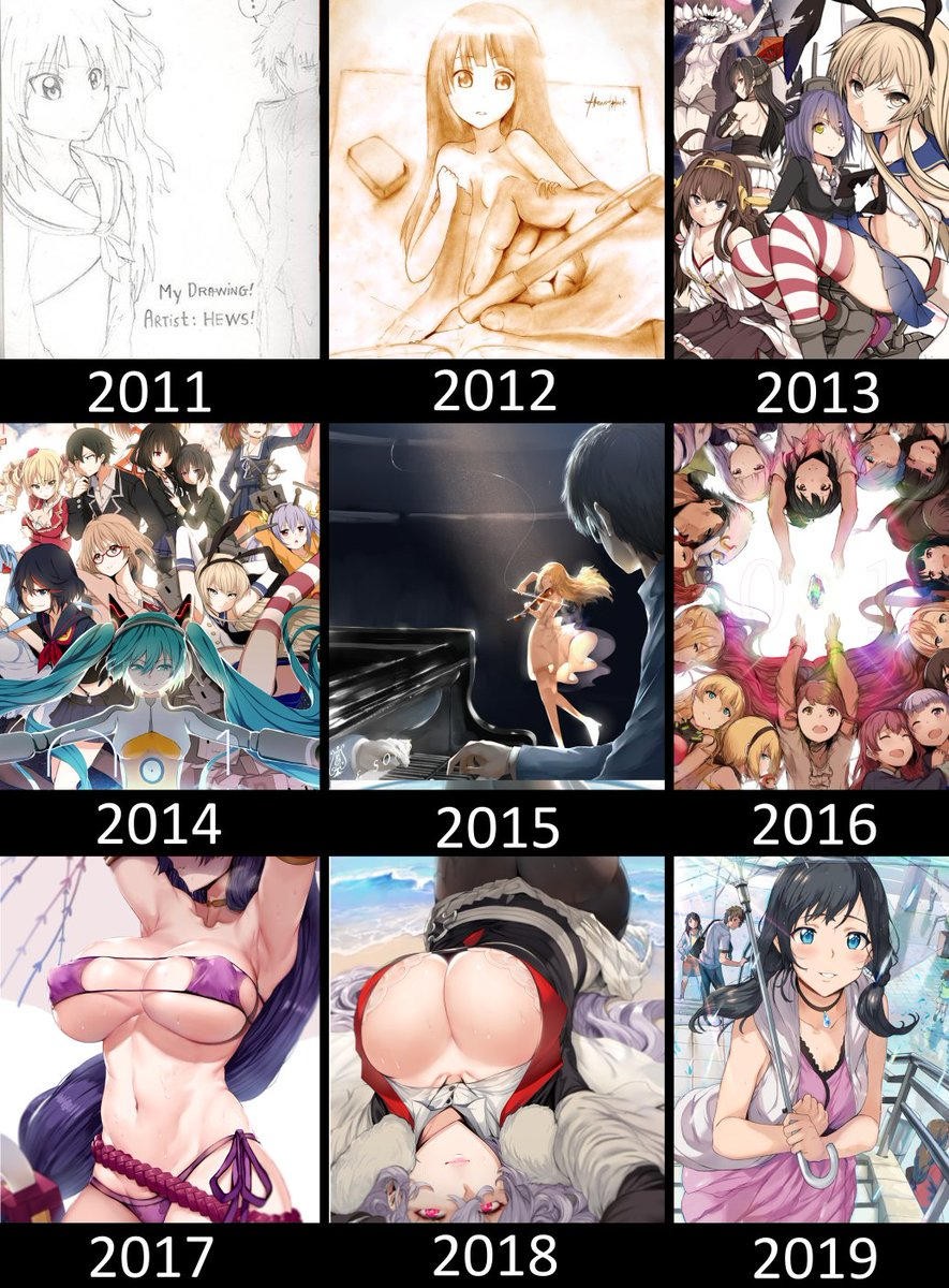 Replying to @hews__: also made a year progress  its the last one i promise