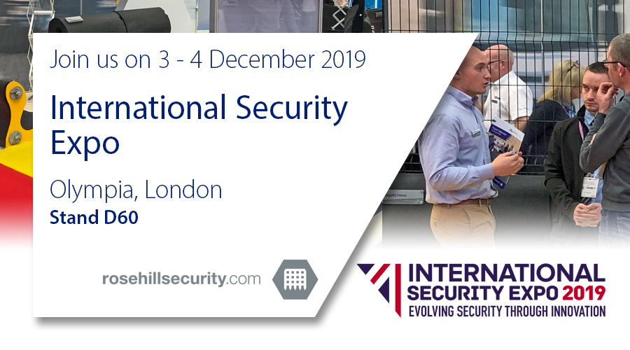 Join us tomorrow at Olympia London for the International Security Expo 2019, where we'll be showcasing our innovative range of vehicle security barriers, perimeter protection products and ballistics solutions.   #ISE19 #London #HVM #CrowdSafety #PerimeterSecurity #EventSafety
