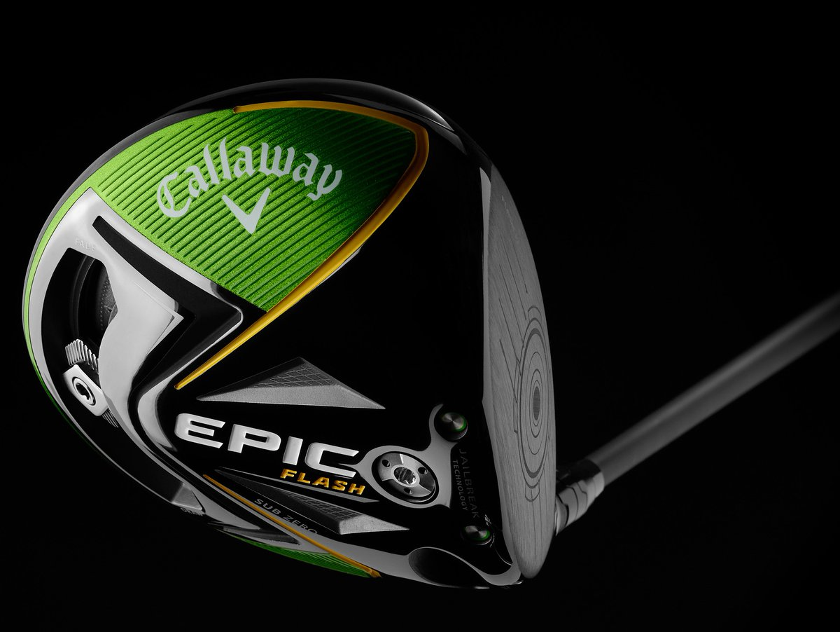 .@plarrazabal is the latest player to win using an #EpicFlash ⚡️ Sub Zero 10.5º Driver, which is led by our innovative #FlashFace Technology ⚡️ created using Artificial Intelligence & Machine Learning to deliver outstanding ball speed across the face.