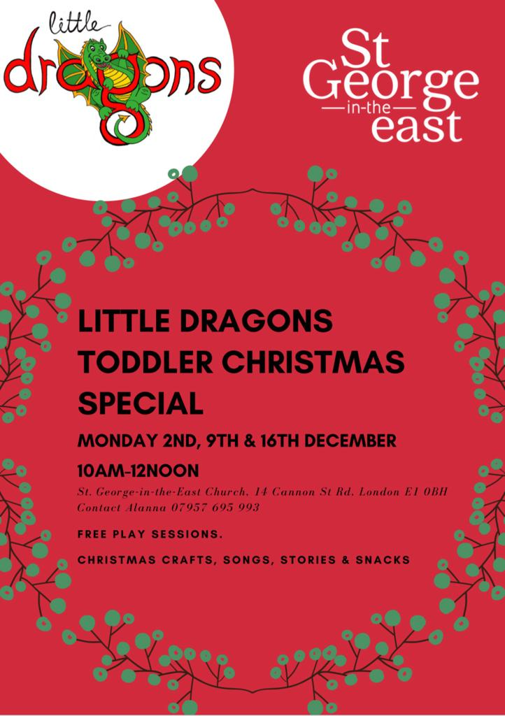 New baby/toddler group @StGEast #wapping #shadwell #towerhamlets