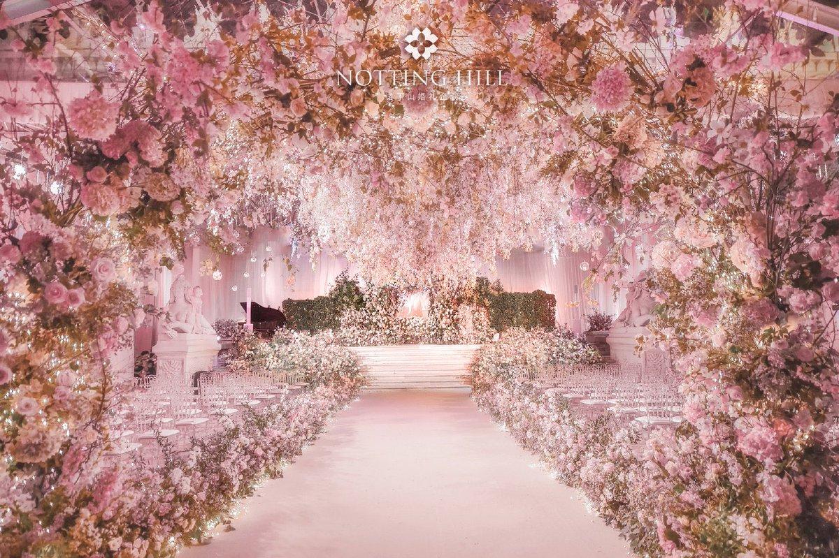 """中国の """"NOTTING HILL"""" という結婚式会場デザイン会社が作り出した女の子の憧れを詰め込んだロマンチックで洗練された世界"""