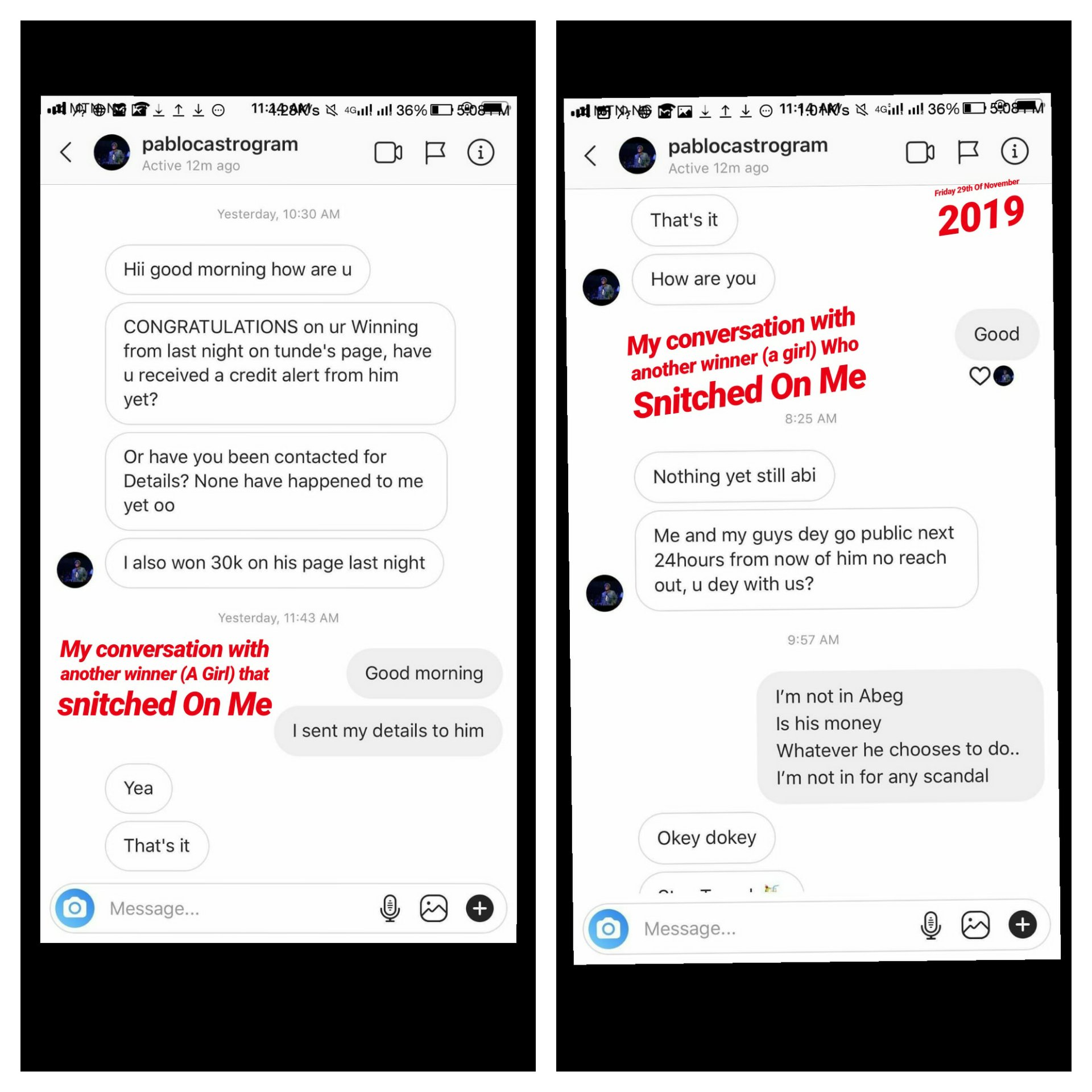 Tunde Ednut Giveaway Issa Scam Man Narrates How He Won But Was Cursed And Blocked Let us diagnose tunde ednut's vile propaganda against the campaign for nigerian president of south east extraction come 2023. tunde ednut giveaway issa scam man