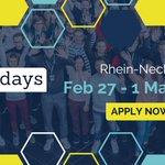 Image for the Tweet beginning: #Hackdays Rhein-Neckar 2020 is happening