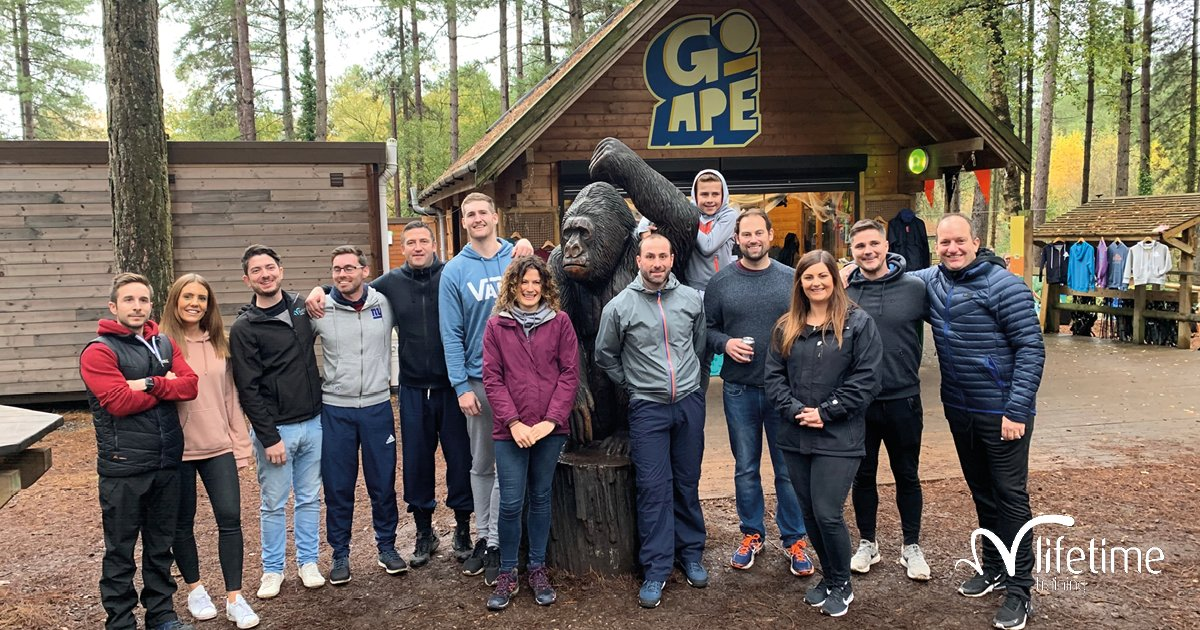 """Our #Retail + #ActiveLeisure Accounts team had their team building day out at Go Ape in Bournemouth last month. Account Manager, Samantha Brenton, said; """"It was a great team-building activity and there were lots of words of encouragement and helping each other going on."""" #GoApe"""