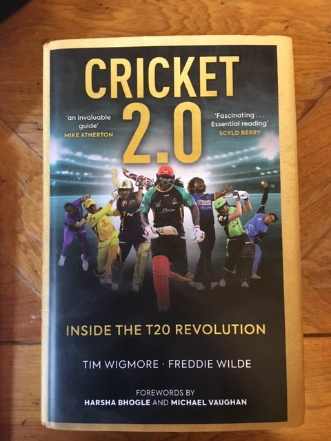 New Book Alert I: Cricket 2.0: Inside the T20 Revolution, by Tim Wigmore and Freddie Wilde waterstones.com/book/cricket-2…