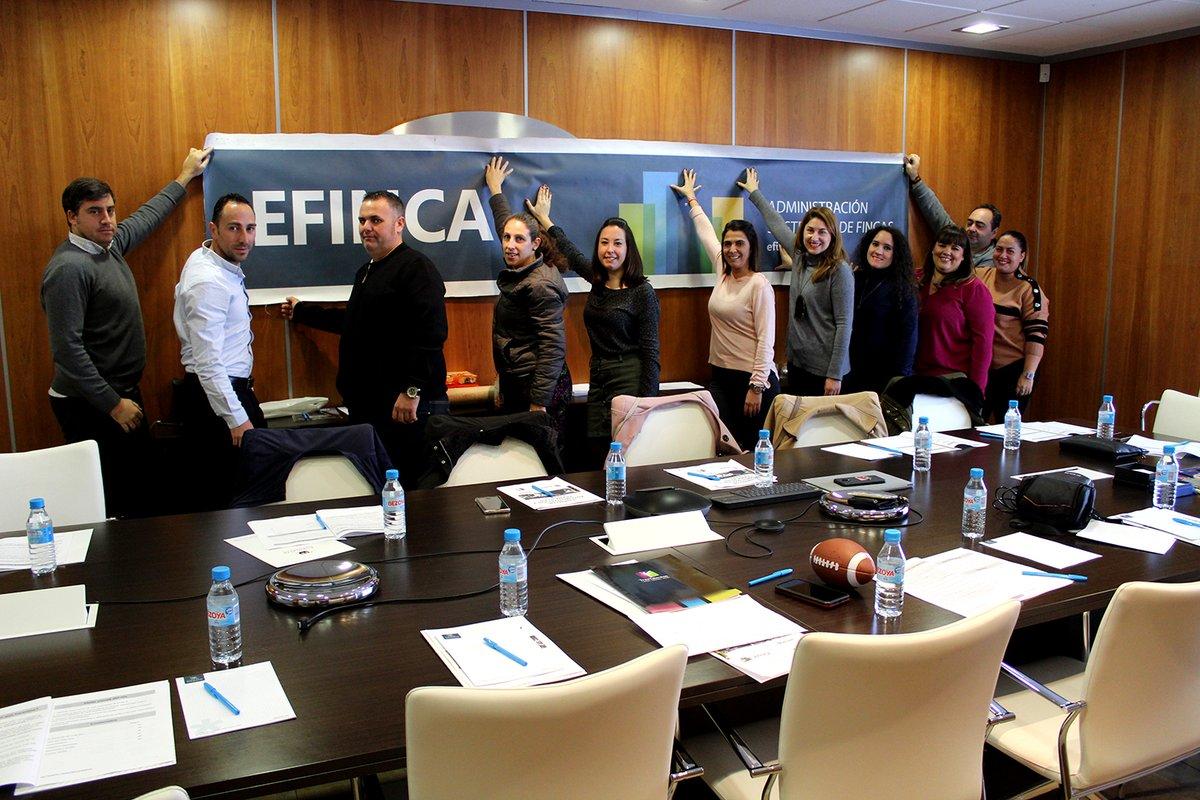 ✨ JUNTOS SOMOS MÁS FUERTES 💪 El pasado 12 de noviembre asistimos una parte del equipo de Mérida y Badajoz a un encuentro donde repasamos los valores de #Efinca como empresa y adquirimos habilidades para mejorar el servicio al cliente.  #comunidadvecinos #administradores