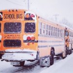 Image for the Tweet beginning: Mon. Dec. 2/19: School bus