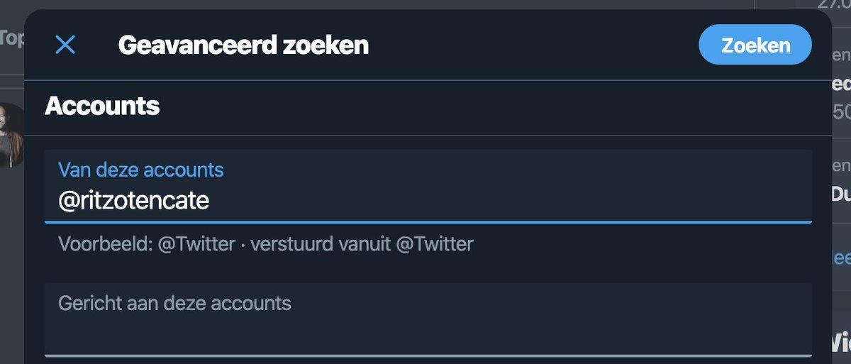 Dit is wel supersexy van Twitter als je even een screenshot van wat tweets rond het ontstaan van #HelpWad wilt terugvinden.  In advanced search een specifiek account opgeven en datum-range aangeven en je kunt tot oneindig terugscrollen.  https://t.co/eNHBnJ7JE6 https://t.co/n0p4KaiRL4
