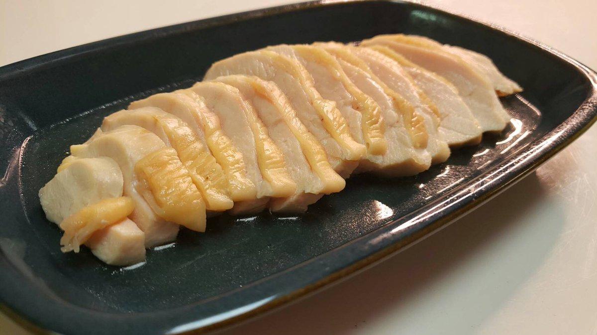 【レシピ】『鶏胸塩チャーシュー』ライオンの依頼で旨味たっぷりの最強柔らか鶏チャーシューが完成!