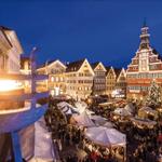 Image for the Tweet beginning: Stuttgart's Christmas Markets Light Up