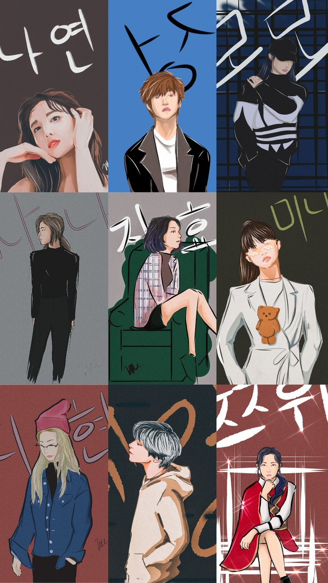 OT9 complete  i'll post on the comments below every pic if ya'll want them as a wallpaper, im not expecting anything just wanna share what ive worked on   #NineOrNone #MAMAVOTE  #TWICE @JYPETWICE<br>http://pic.twitter.com/eXlwZGfQkd