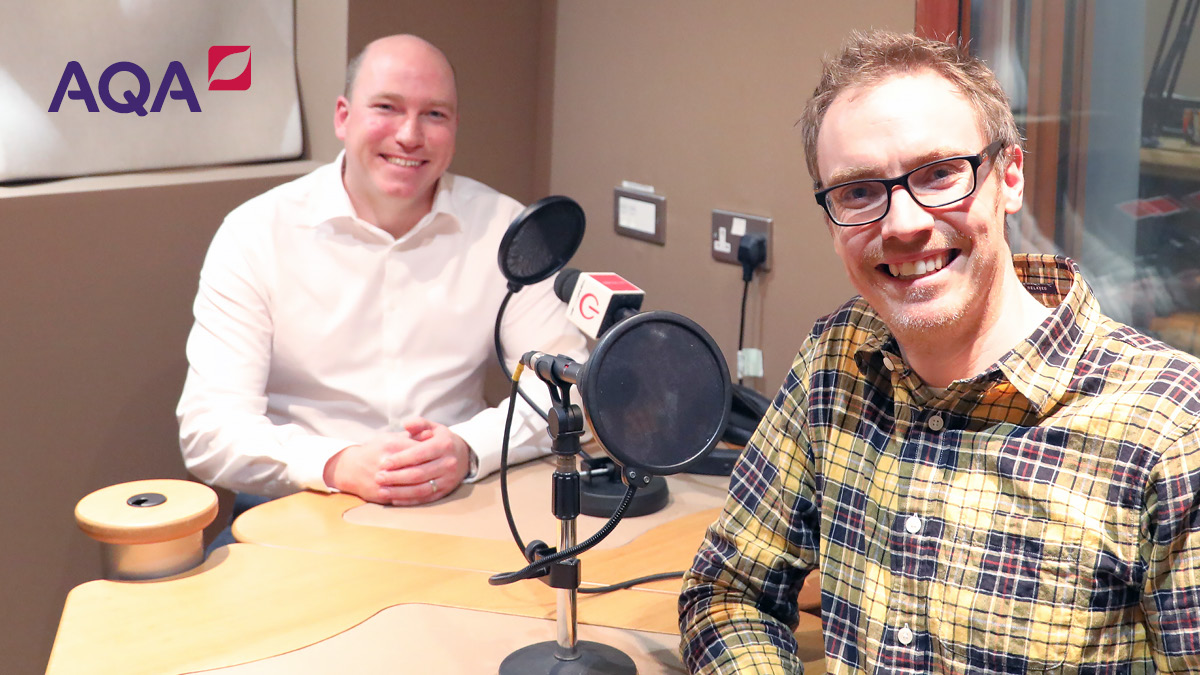 We had a great time recording #InsideExams Episode 4 with @mrbartonmaths and Mike for series 2. If you missed the first 3 episodes, catch up here >>> bit.ly/2KCwgr3