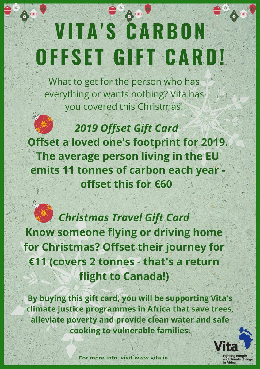 Vita On Twitter Christmas Gift Cards A Christmas Present With A Difference These Gift Cards Are Available On Our Website Now Visit Https T Co Qubgmr8lcw To Find Out More Together Let S Make This