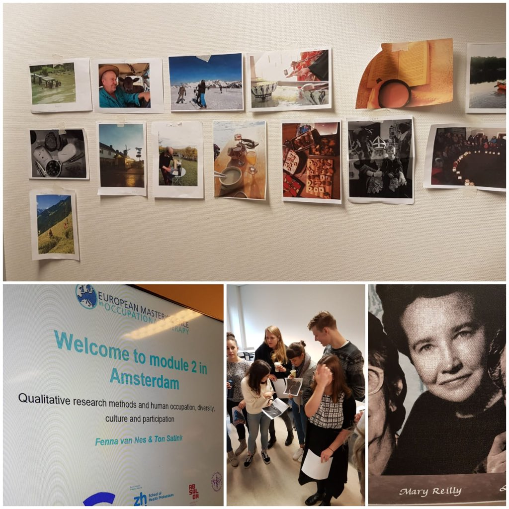 Welcome to Amsterdam! Today, the students of cohort 19 started their class work in module 2 in Amsterdam - welcome to two intense weeks of international exchange and diving into qualitative research methods!