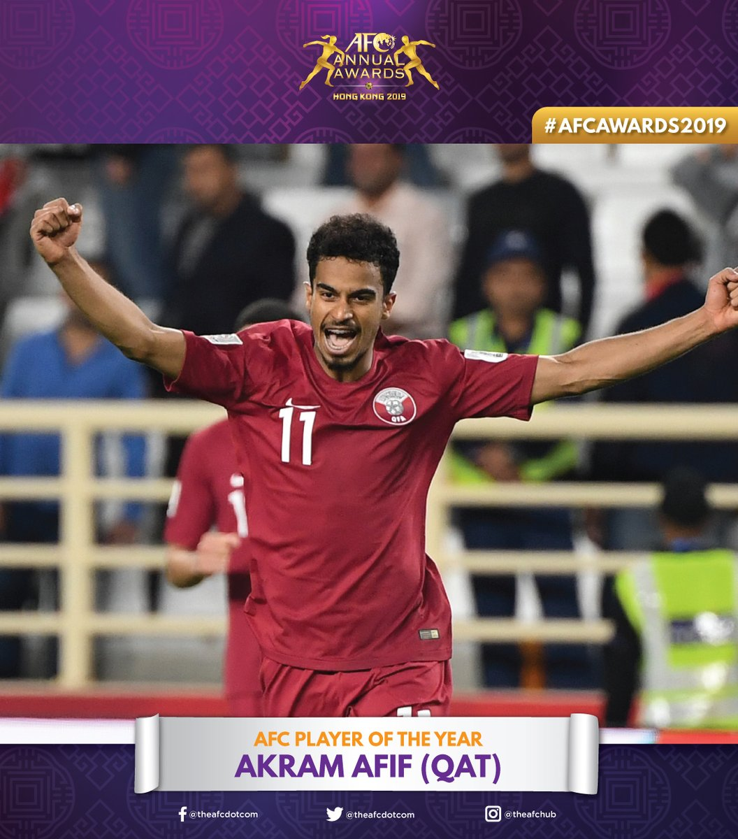 AFC Player of the Year: Akram Afif (QAT) #AFCAwards2019