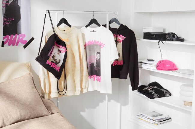 【速報】ショーン・メンデス「The Tour」マーチ・コレクションを12月5日(木)H&M限定店舗とオンラインストアで発売予定✨#HM詳細はこちら→