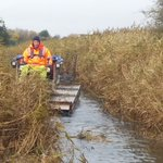 Image for the Tweet beginning: Working with the Environment Agency