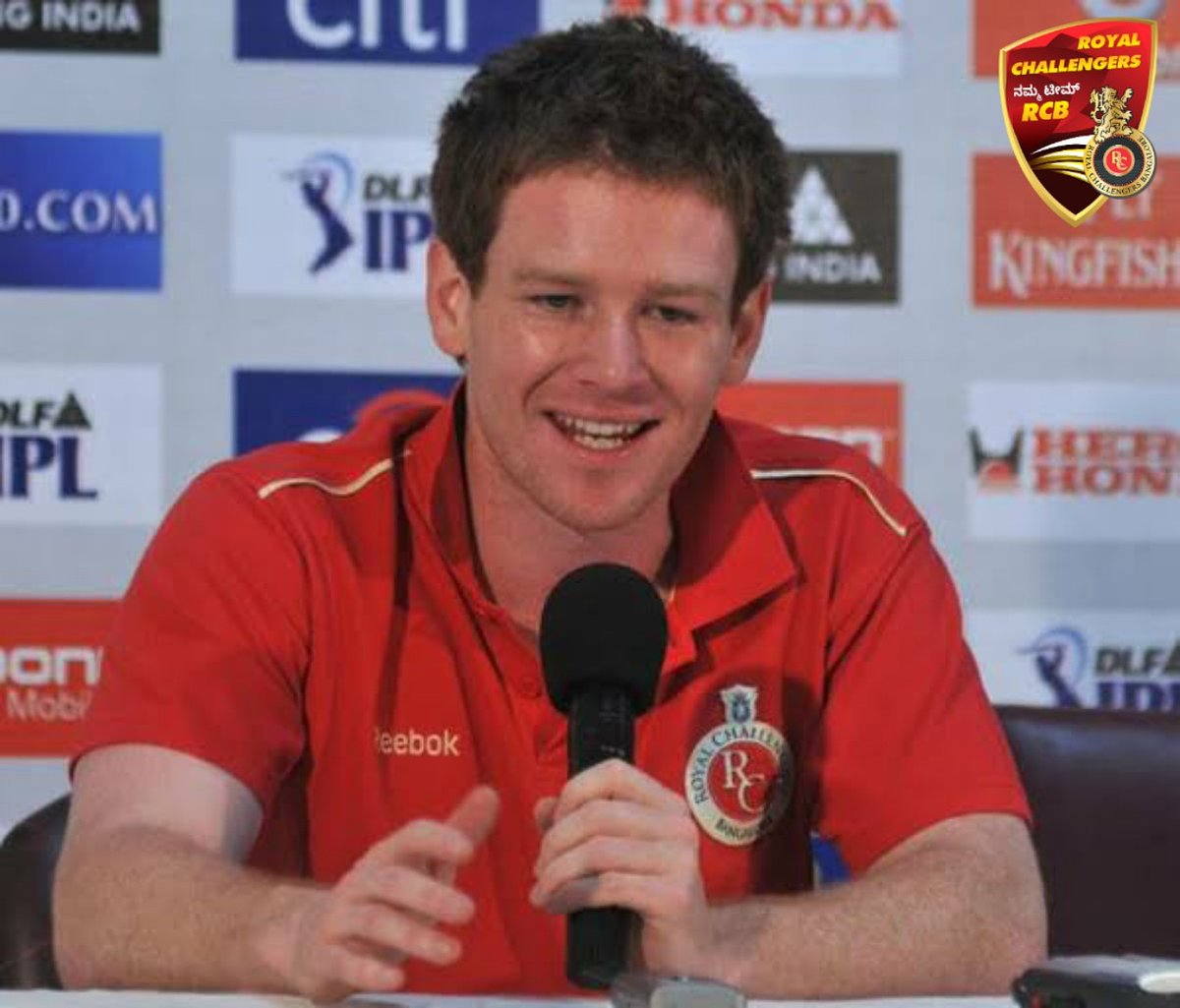 DID YOU KNOW?  - Eoin Morgan was part of the @RCBTweets set-up in the 2010 edition of the IPL.  Challengers, do you want to see the World Cup-winning captain don the red attire once again?  #IPL2020 #NammaTeamRCB #NavuBengaluru #PlayBold #EoinMorgan #IPLAuction<br>http://pic.twitter.com/hbhESjFaoh
