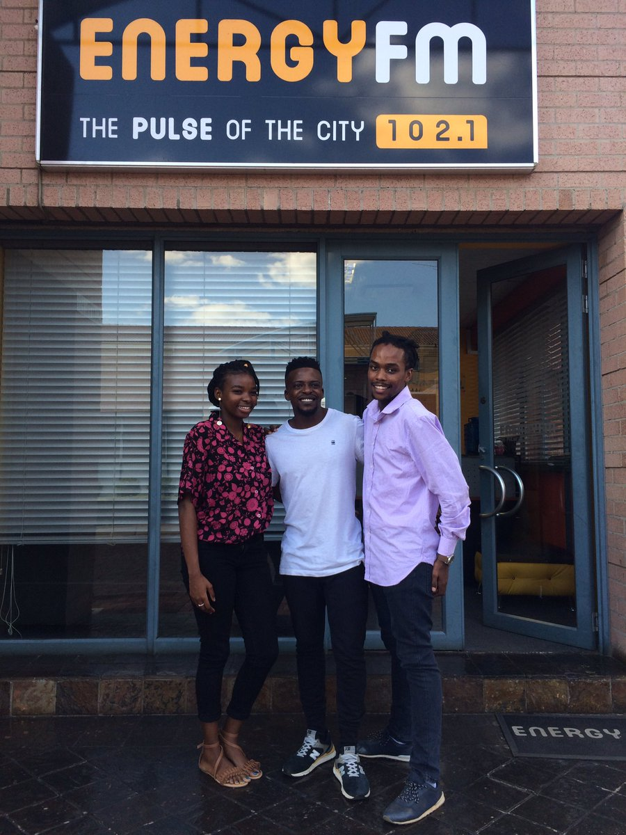 Today on the #EnergyDrive @Rabizm and @PoetessRochelle were joined by @DjMshega to talk about his new album #Vibez.pic.twitter.com/SRuK66eY3W