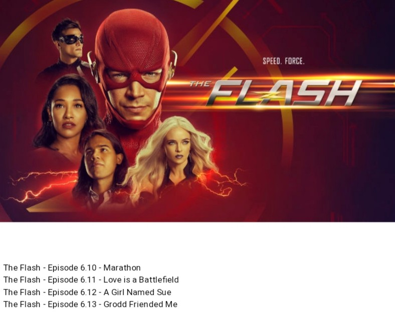 Dpanabaker World On Twitter The Flash Episodes Titles Revealed