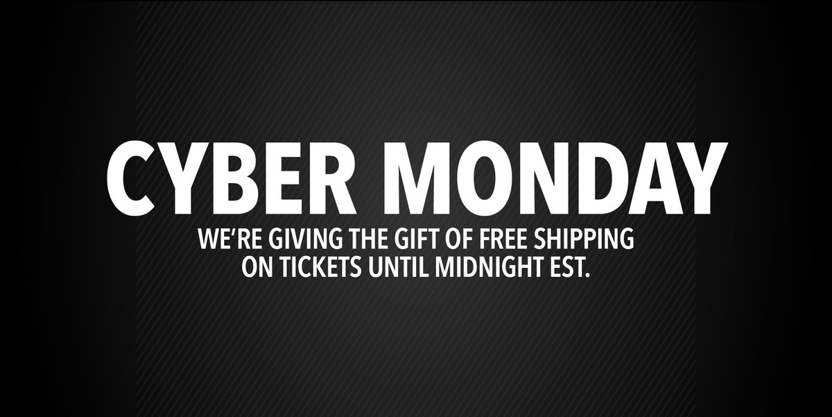 Get your Cyber Monday Savings. Order before midnight and get FREE SHIPPING. Buy now: FanExpoStore.com